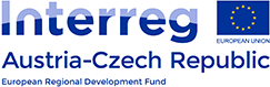 Logo Interreg Austria-Czech Republic, European Regional Development Fund