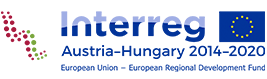 Logo Interreg Austria-Hungary 2014-2020 European Regional Development Fund